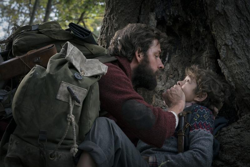Movie Review by Rawlins, A Quiet Place, Horror Movie, Emily Blunt, John Krasinski, Millicent Simmonds, Noah Jupe