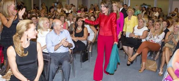 H Γιάννα Αγγελοπούλου στην Καστοριά