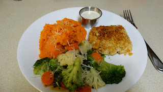 Jessica S Foodie Corner Baked Halibut With Mashed Sweet