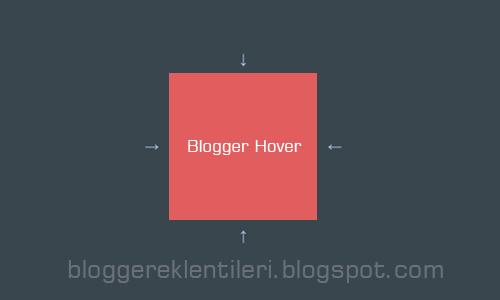 Blog Hover Uygulama Örneği