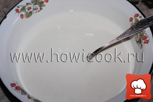 Оладьи на молоке рецепт пошаговые фото
