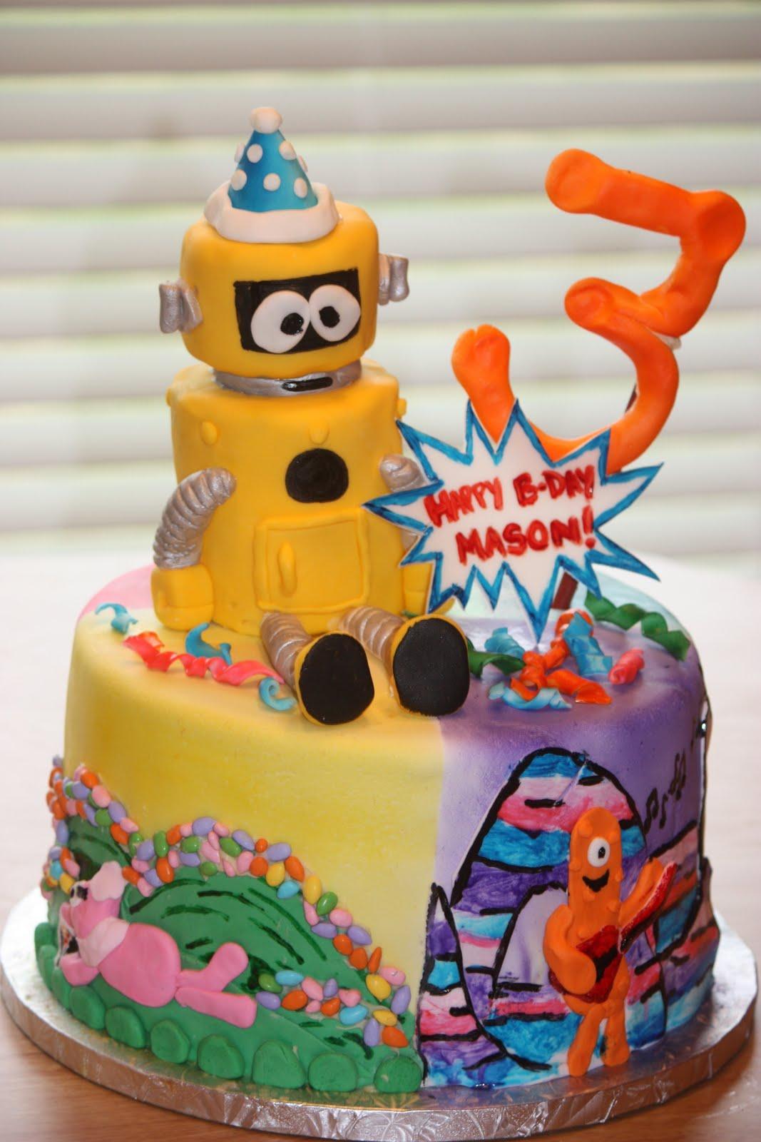 Breezie S Cakes Yo Gabba Gabba Cake