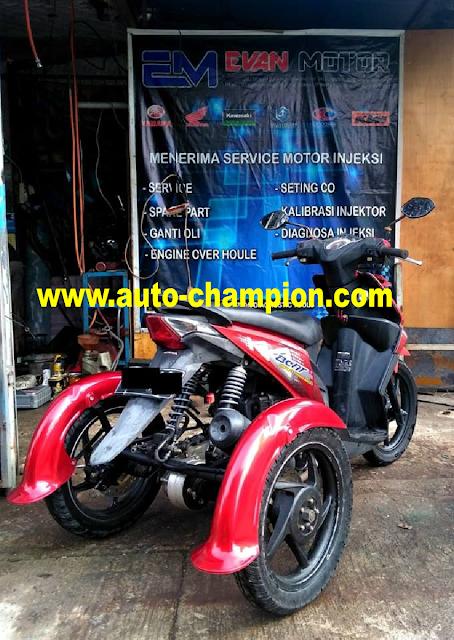 bengkel modifikasi roda 3