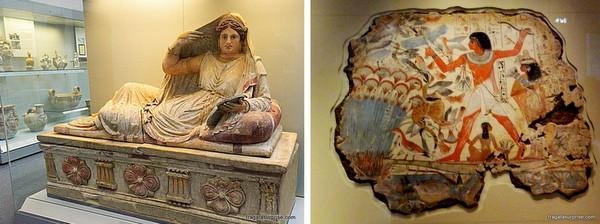 Coleção Etrusca do Museu Britânico - Londres