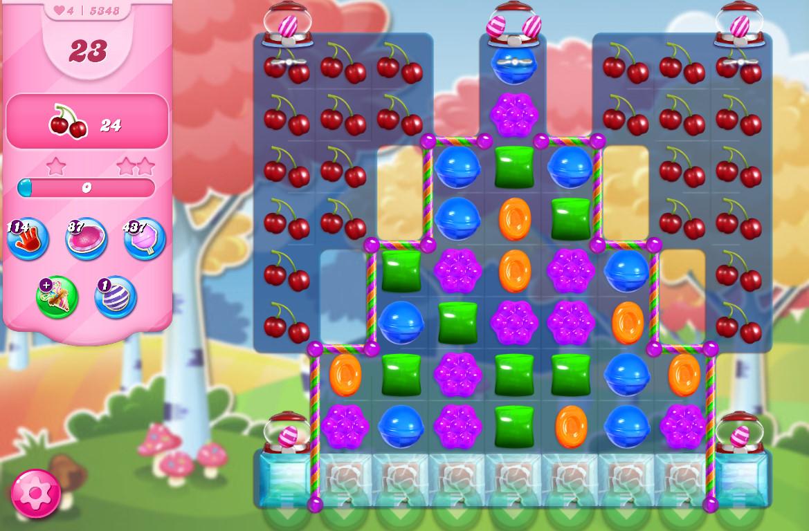 Candy Crush Saga level 5348