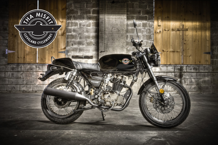 cleveland cyclewerks low cost cafe racer ~ return of the cafe racers