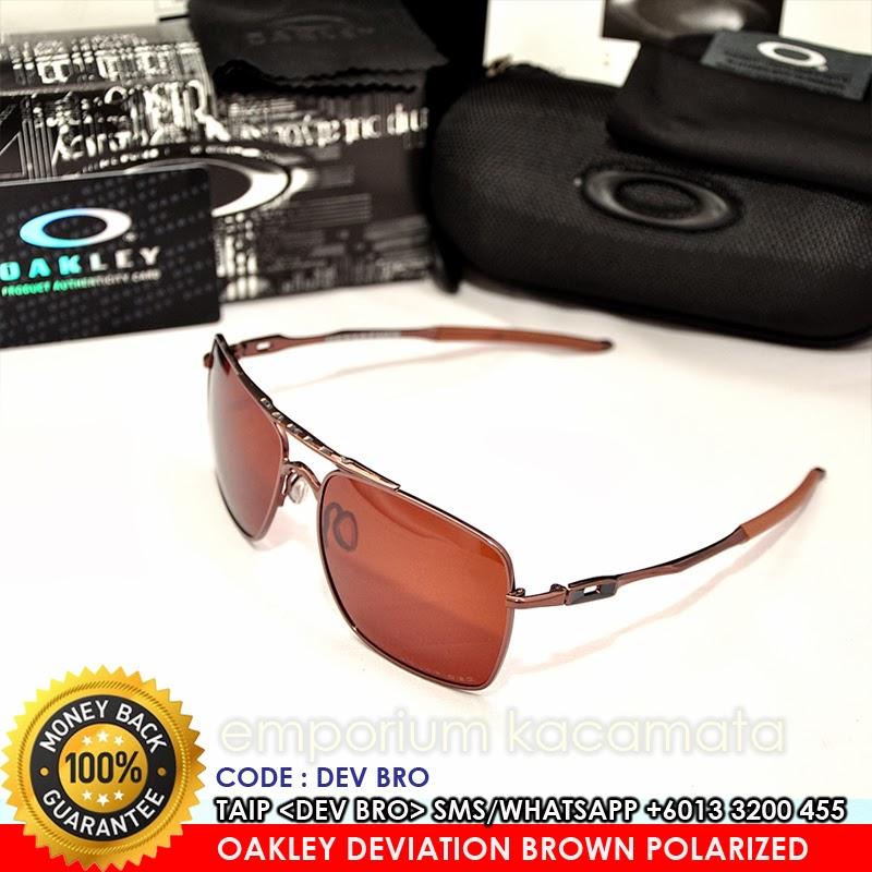 d6aa3ad781308 ... sunglasses e5fb3 b598f  promo code for oakley deviation brown iridium polarized  lense super grade 7a 3405b 158a2