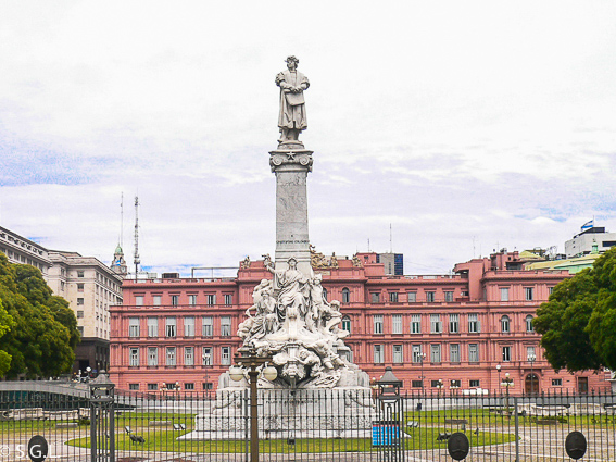 Monumento a Cristobal Colon en Buenos Aires