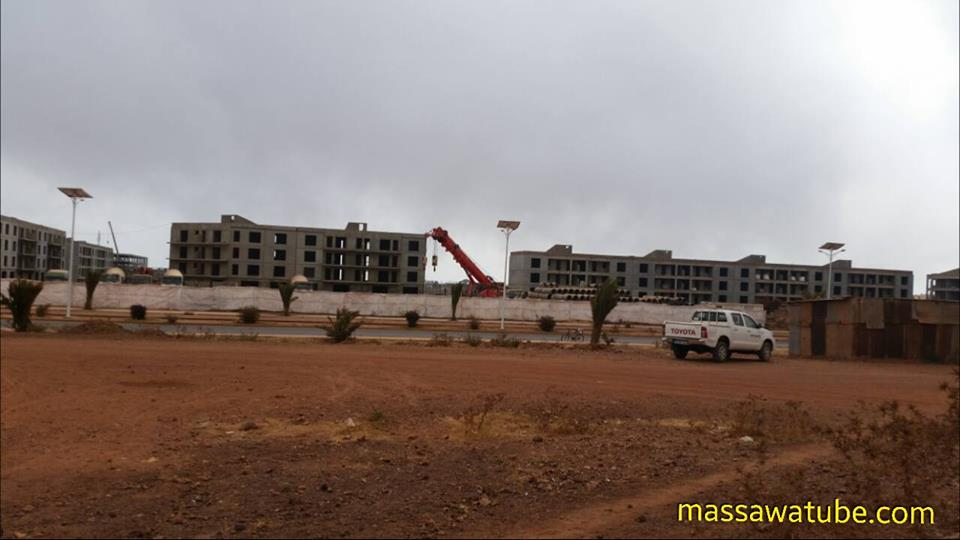 <Photos of new development projects in Eritrea - Feb. 2018