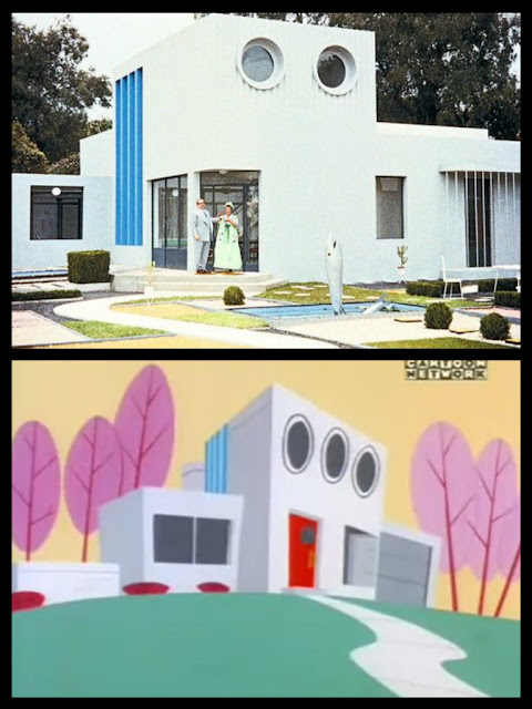 The Powerpuff Girls house's design was inspired by the ...