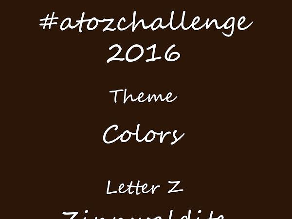 #atozchallenge 2016//Z is for Zinnwaldite Brown