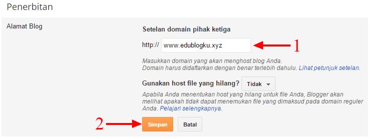 Isi Nama Domain