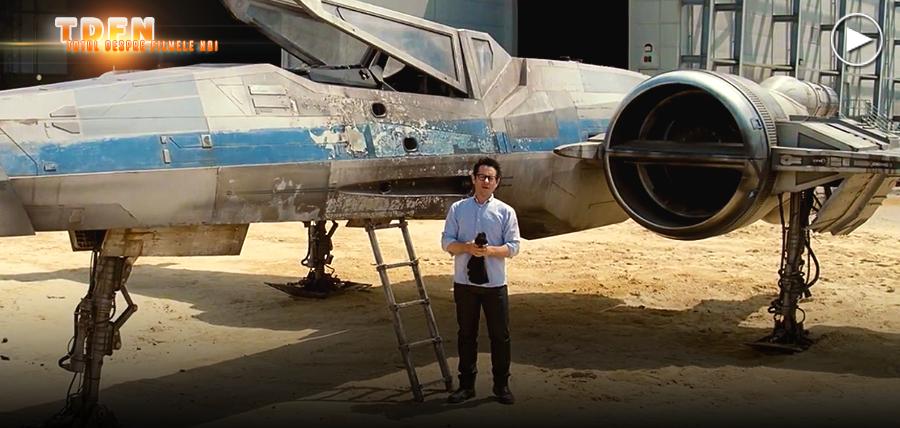 STAR WARS EPISODE VII: O Navă X-WING Apare Într-un Video Oficial Surpriză De Pe Platourile De Filmare