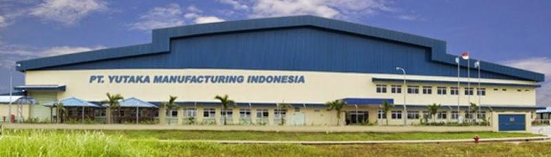 Lowongan Terbaru PT Yutaka Manufacturing Indonesia