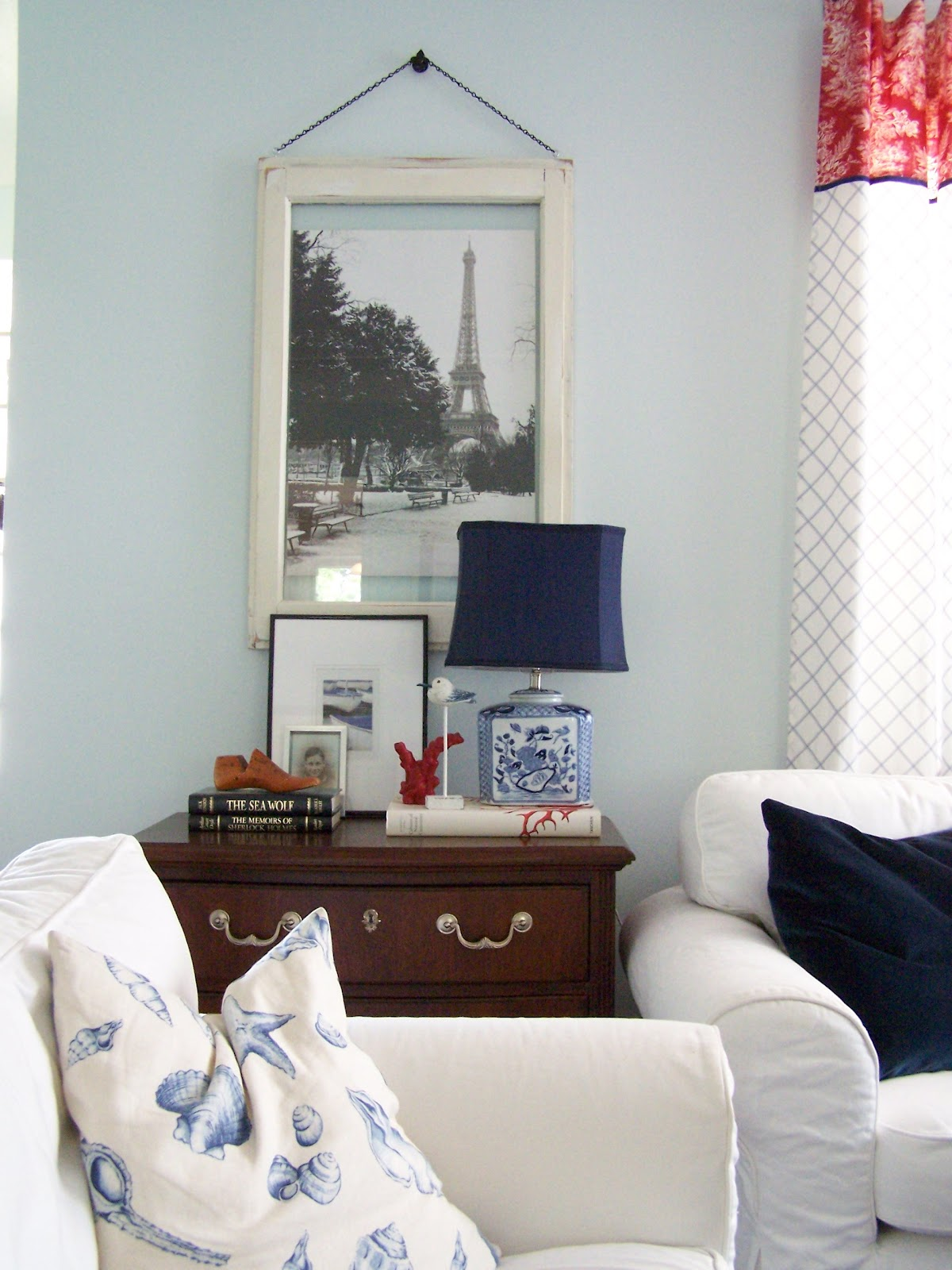 Room Paint Designer: Delorme Designs: LIVING ROOM- VALSPAR MORNING JOG