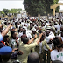 Corps Members Disrupt NYSC Passing Out Parade In Kano Over Unpaid Allowances