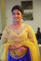 Actress Eesha in Yellow Choli Blue Ghagra at Darshakudu music launch 027.JPG