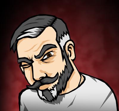Adam Steel self portrait