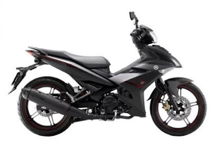 Yamaha Exciter 150 Warna Black Matte di Vietnam
