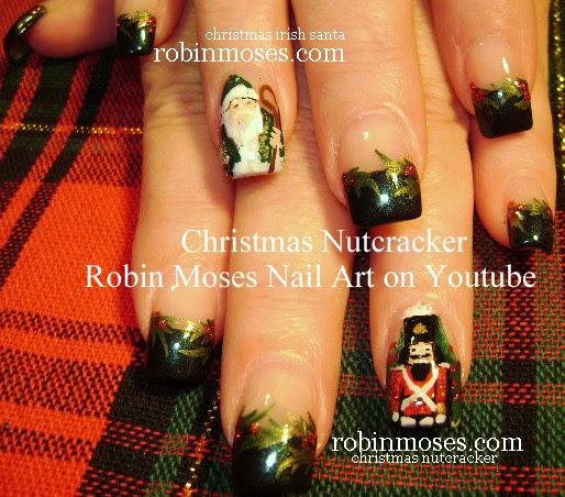 Nail Art By Robin Moses Nail Art For Christmas Ultimate Nail Art