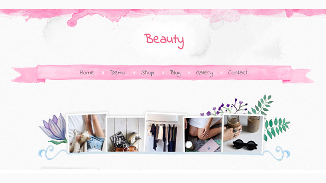 Beauty Blogger Templates