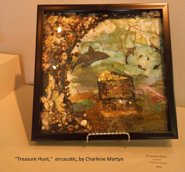 Encaustic Art at Studios on the Park