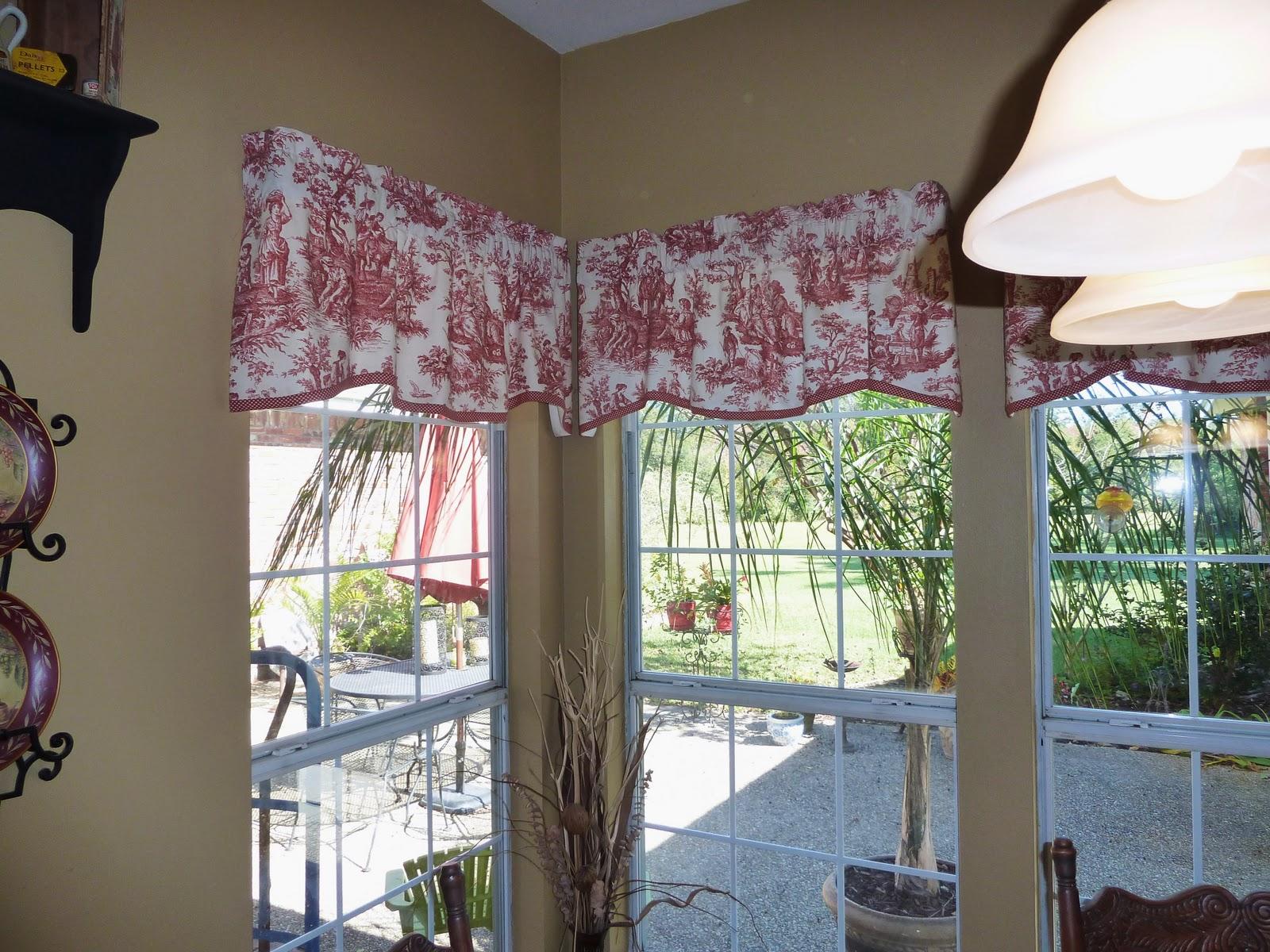 Kitchen Curtain Fabric For Sale 13 Gallon Trash Can Beaucoup Joie De Vivre Red Toile Curtains