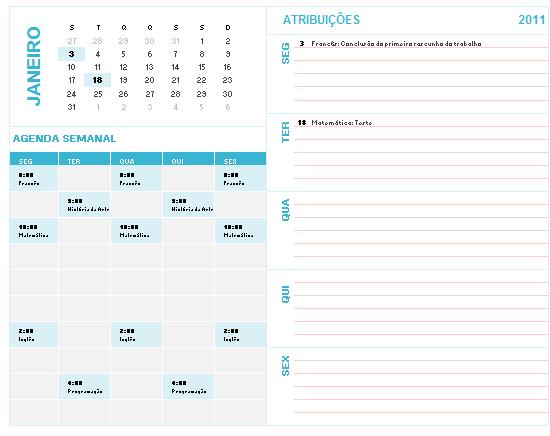 Calendario Flylady.Casa Organizada Agosto 2011