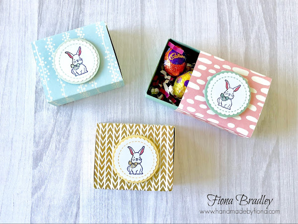 Quick Easter Egg Treat Boxes