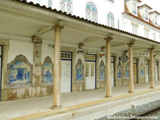 Как доехать из Лиссабона в Сантарен на поезде