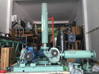 máy thổi khí ito trong hệ thống xử lý nước thải