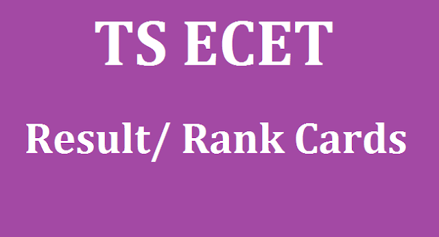 TS State, TS Results, TS ECET, ECET Result, ecet.tsche.ac.in