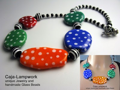 Short Polka Dots Necklace