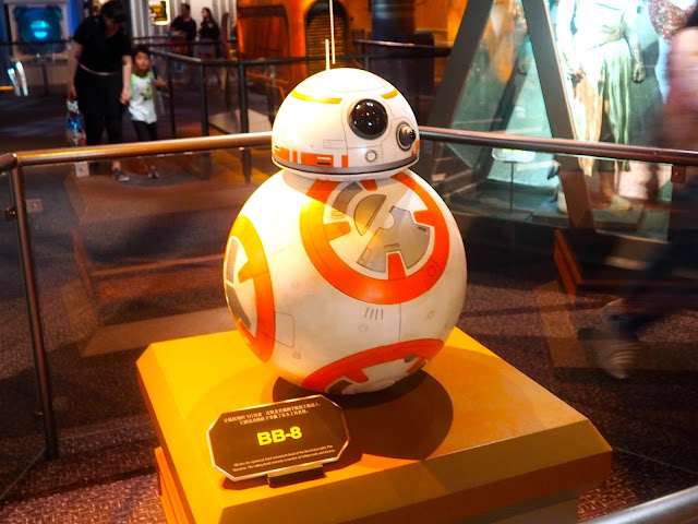 BB-8 at the Star Wars hall, Shanghai Disneyland, China