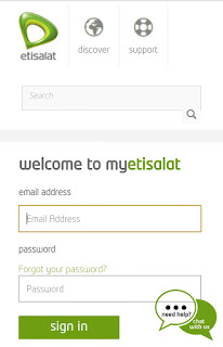 MyEtisalat Self-service Platform Review
