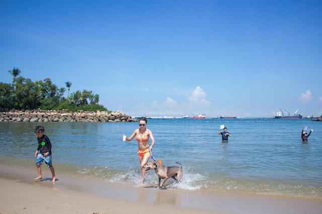 Beach Babe in Singapore