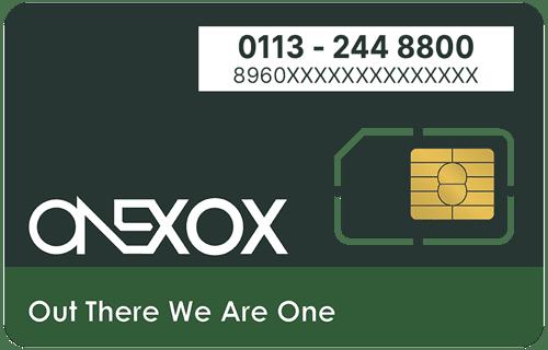 ONEXOX Black Nombor Baru