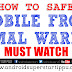 HOW TO MAKE MOBILE MOST SAFE | ANDROID SUPERSTARS