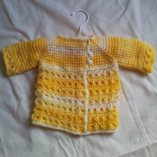 Baby In Bloom Sweater - Free Pattern