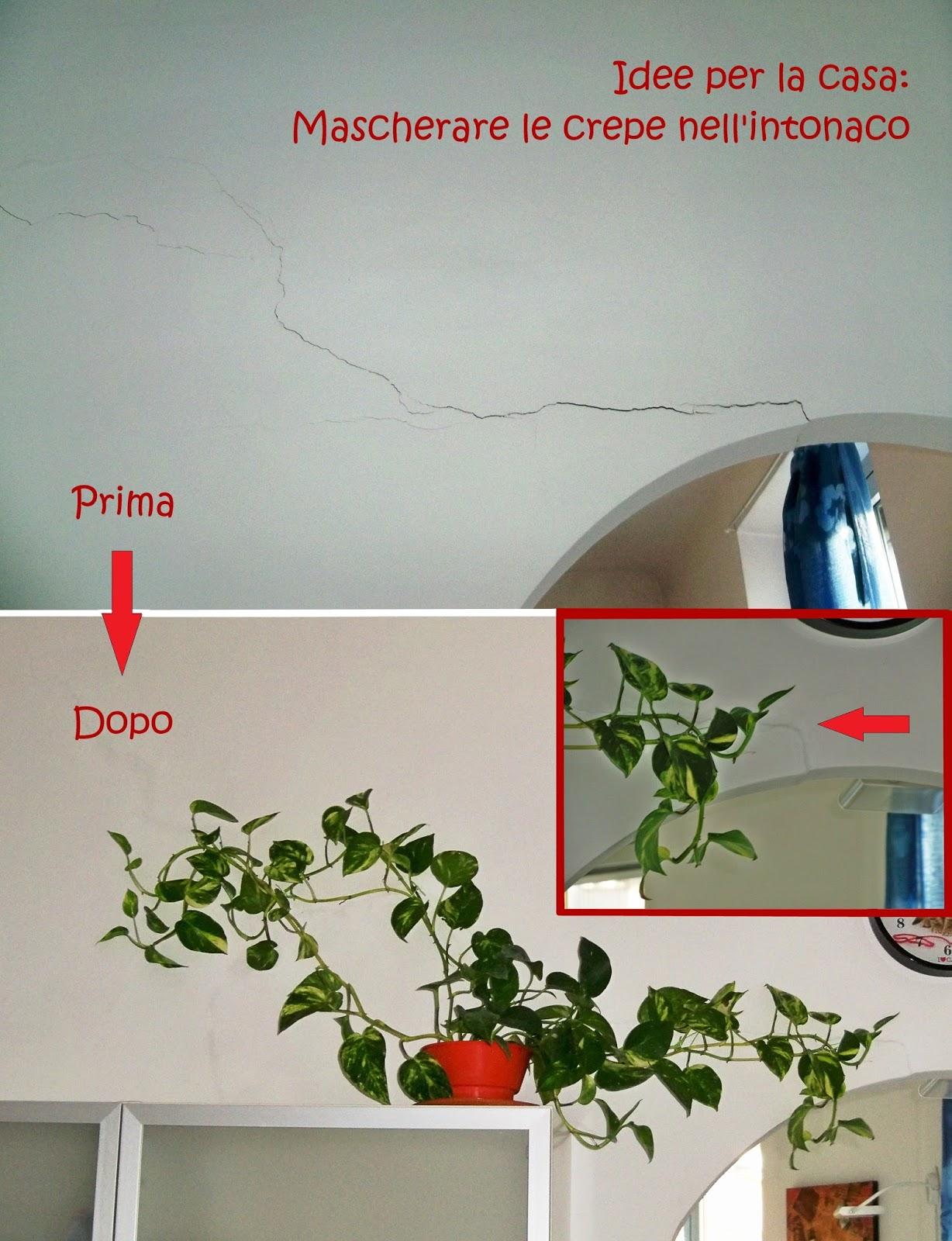 Disegni Sui Muri Di Casa _rici '86_: un trucco per mascherare le crepe nell'intonaco
