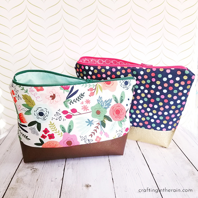 Cricut Maker cosmetic bag