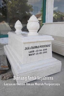 Makam Mataram Bayi Marmer