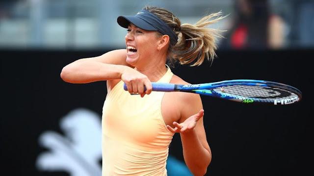 Italia Terbuka: Sharapova ke Babak 16 Besar Usai Bertarung Tiga Set