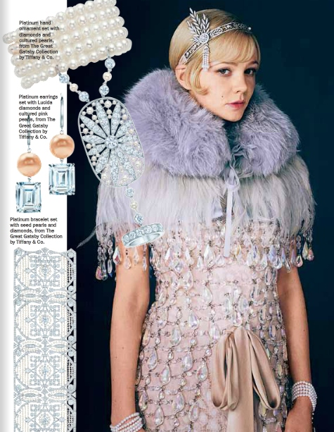 Vogue Australia Have A Cool Spread On The Jewels From Movie And Tiffany S Collection If You Can T Afford Any Of These Hair Pieces For Your Great Gatsby