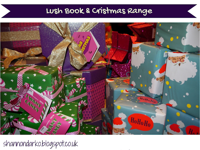 Lush Cosmetics To Go Book Launch Christmas Range