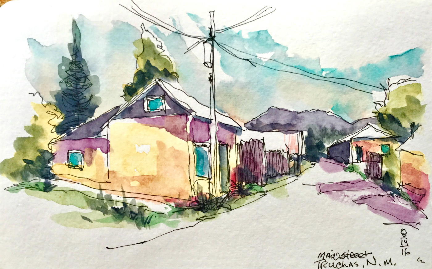sketching the spanish history of northern new mexico urban sketchers