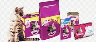 Makanan kucing persia Whiskas