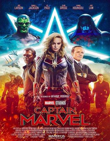 Captain Marvel (2019) Dual Audio Hindi 720p HDTC x264 1.2GB