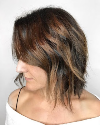 balayage 2019 hair color for short hair