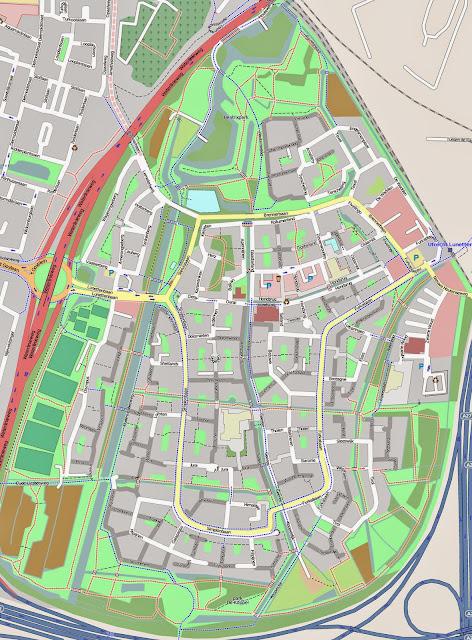 Kaart Lunetten Utrecht